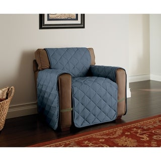 Innovative Textile Solutions Microfiber Ultimate Chair Furniture Protector (Slate Blue)