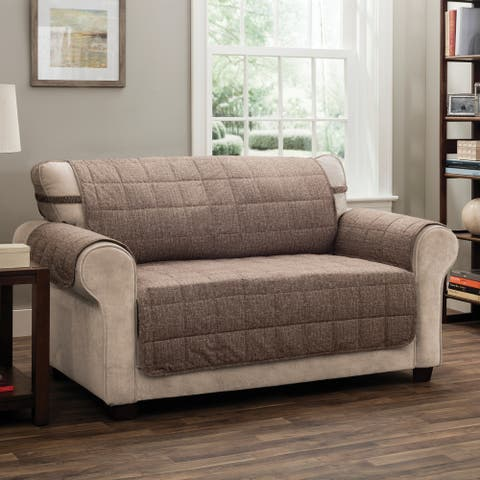 Innovative Textile Solutions Tyler Solid Loveseat Furniture Protector