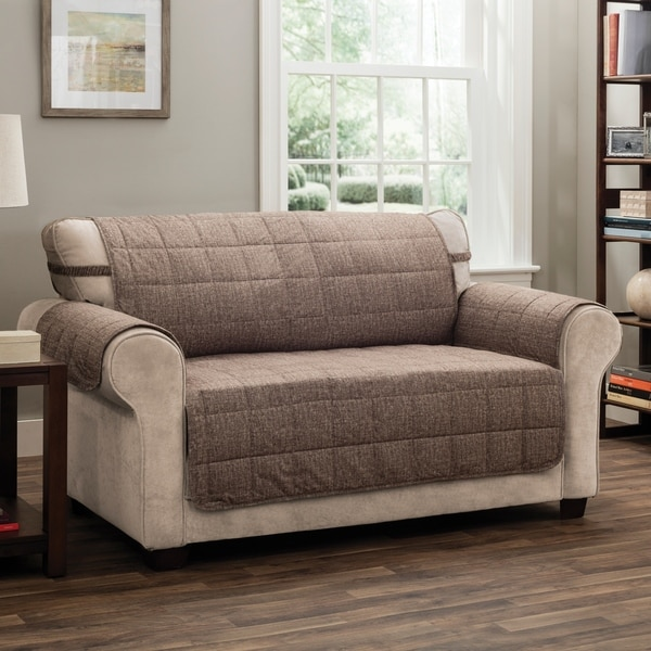 Shop Innovative Textile Solutions Tyler Solid Loveseat