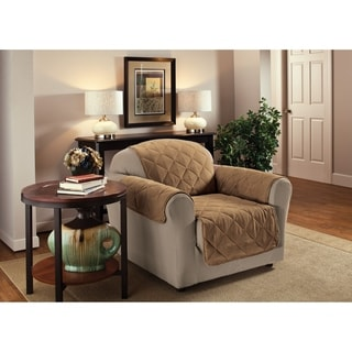 Innovative Textile Solutions Solid Faux Suede Chair Furniture Protector