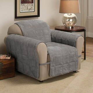 Innovative Textile Solutions Ultimate Faux Suede Solid Chair Slipcover