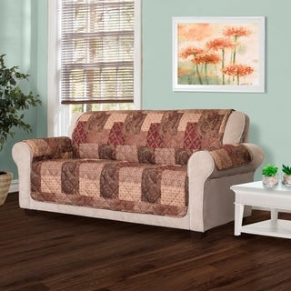 Innovative Textile Solutions Paisley Patch Print Loveseat Slipcover