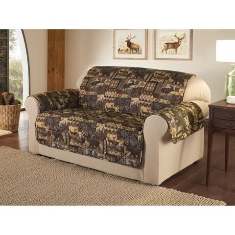 Innovative Textile Solutions Lodge Print Sofa Slipcover