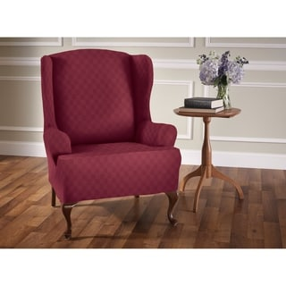 Stretch Newport Wing Chair Slipcover
