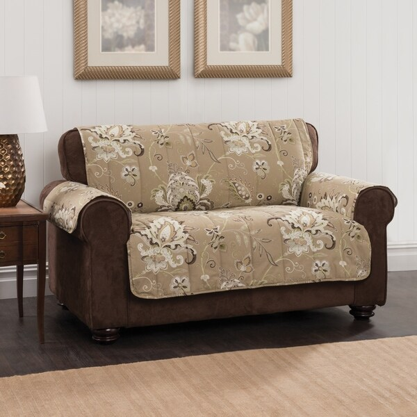 Innovative Textile Solutions Aria Jacobean Fl Sofa Furniture Protector