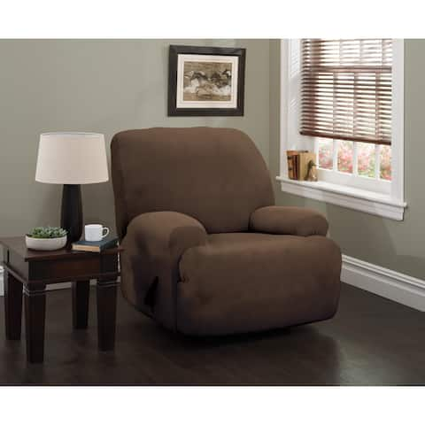 Stretch Sensations Stretch Optic Jumbo Recliner Slipcover - jumbo recliner