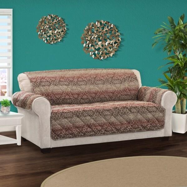 Home Solutions Furniture: Shop Innovative Textile Solutions Festive Damask Sofa