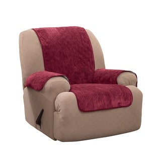 Innovative Textile Solutions Plush Stripe Recliner Furniture Protector