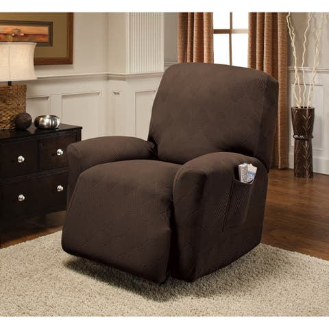 Stretch Sensations Stretch Optic Recliner Slipcover