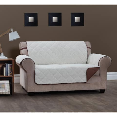 Innovative Textile Solutions Sinclair Sherpa XL Sofa Furniture Protector - xl sofa