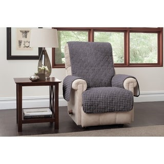 Innovative Textile Solutions Puff Plush Recliner/Wing Slipcover