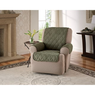 Innovative Textile Solutions Solid Faux Suede Recliner Furniture Protector