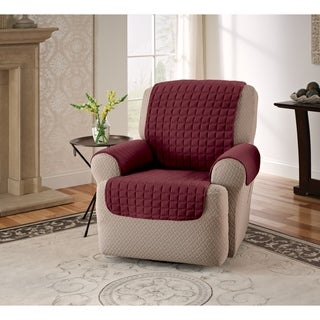 Microfiber Furniture Recliner/Wing Chair Protector Slipcover