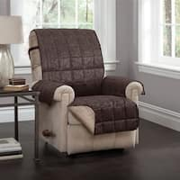 Innovative Textile Solutions Brentwood Faux Leather Recliner Slipcover