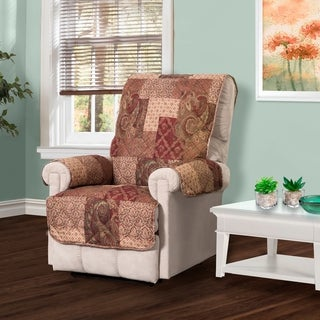 Paisley Patch Recliner Furniture Protector Slipcover