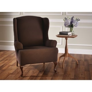 Stretch Sensations Stretch Optic Wing Chair Slipcover - wing chair