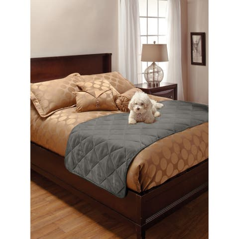Faux Suede Full/Queen Pet Bed Protector
