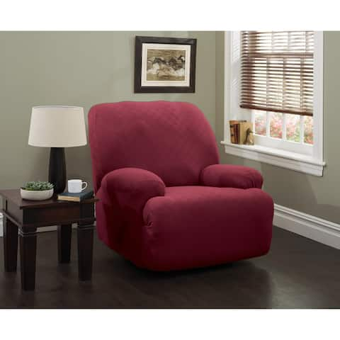 Stretch Newport Jumbo Recliner Slipcover