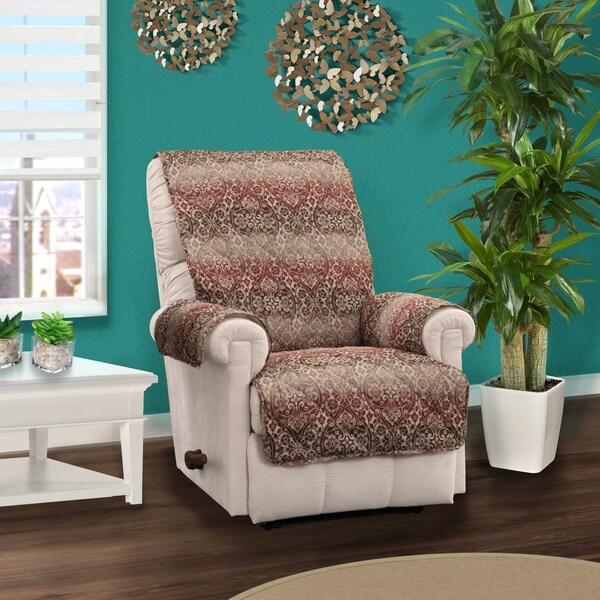Home Solutions Furniture: Shop Innovative Textile Solutions Festive Damask Recliner