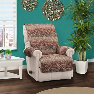 Innovative Textile Solutions Festive Damask Recliner Furniture Protector