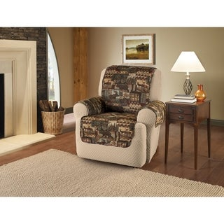 Innovative Textile Solutions Lodge Print Recliner/Wing Slipcover - wing chair/recliner