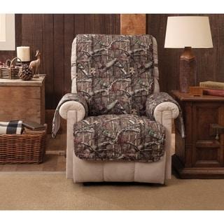 Mossy Oak Break-Up Infinity Recliner Slipcover - wing chair