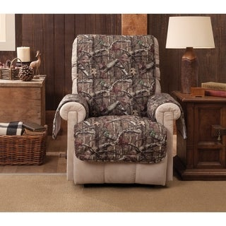 Mossy Oak Break-Up Infinity Recliner Slipcover - wing chair