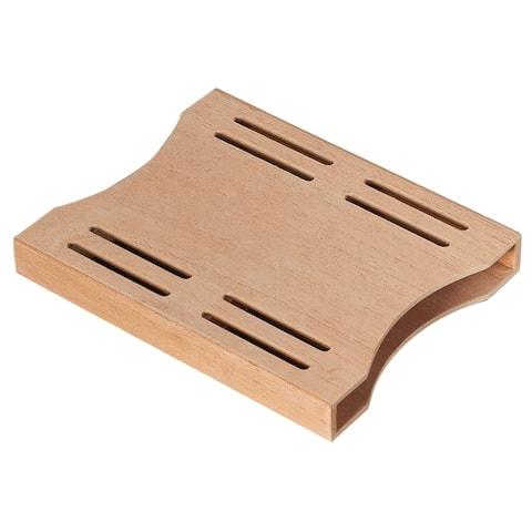 Visol Cedar Wood Boveda Pack Holder - Small