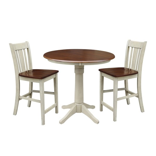 Shop International Concepts 36 Quot Round Gathering Height