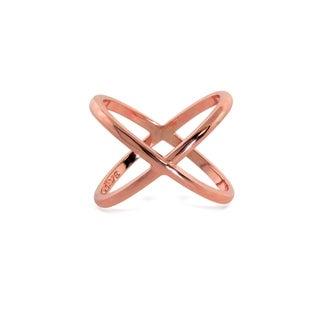Eternally Haute Rose Gold Midi Cage Ring