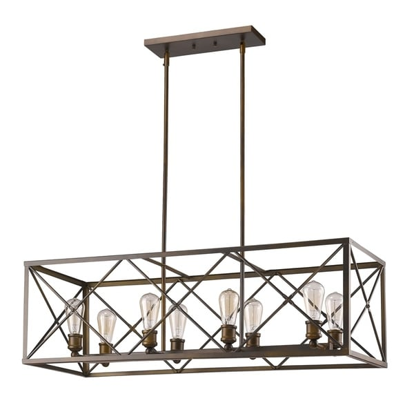 Acclaim Lighting Brooklyn Indoor 8-Light Pendant In Oil Rubbed Bronze