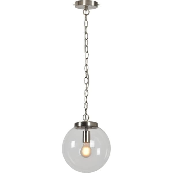 Renwil Oceo Ceiling Fixture - Silver
