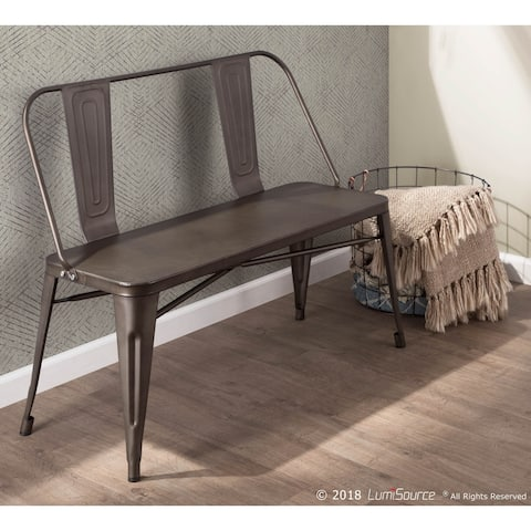 Carbon Loft Samira Industrial Metal Bench - N/A