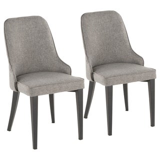 Link to Silver Orchid Wilson Upholstered Dining/Accent Chair (Set of 2) Similar Items in Dining Room & Bar Furniture
