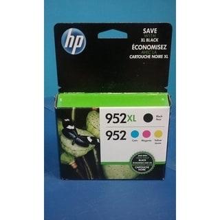 HP 952XL/952 High Yield Original Black, Standard C/M/Y Ink Cartridges,N9K28AN - Multi pack