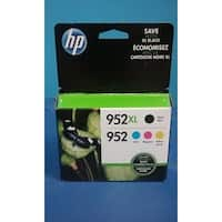 HP 952XL/952 High Yield Original Black, Standard C/M/Y Ink Cartridges,N9K28AN - Multi pack