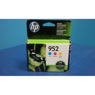 HP 952 C/M/Y Original Ink Cartridges, N9K27AN, Combo Pack