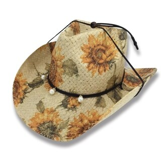 Sunday - 100% Paper Straw Cowboy Drifter Style Hat Ol Stone - AH-253-PP