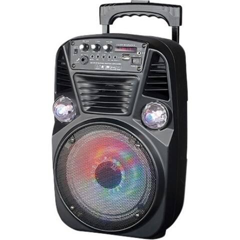 IQ Sound Portable Bluetooth Speaker System - 250 W RMS - Black