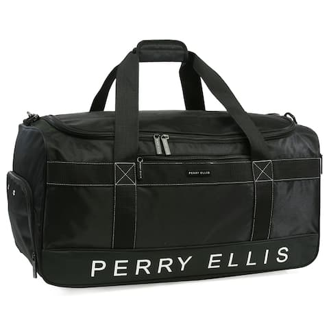 Perry Ellis Weekender 22-in Duffel bag with shoe compartment