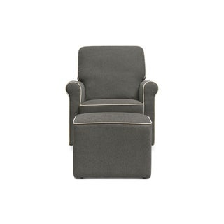 DaVinci Maya Swivel Glider with Ottoman