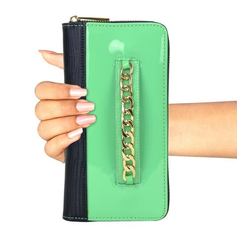 0164e2388dc2 Green Wallets | Find Great Accessories Deals Shopping at Overstock