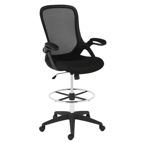 EdgeMod Sadia Drafting Chair in Mesh
