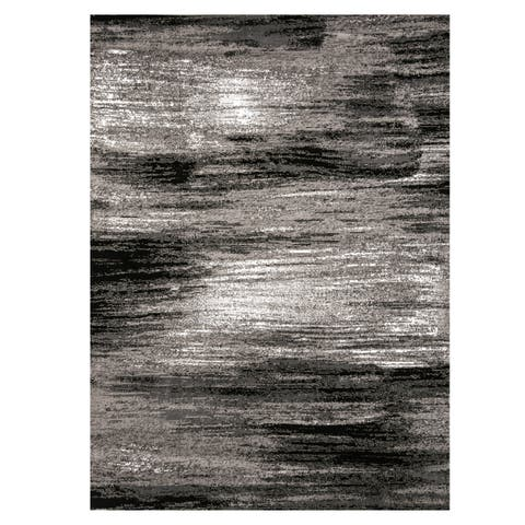 Furniture of America Wesley Contemporary Color Brushed Rug