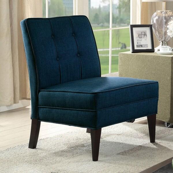 Shop Furniture Of America Adams Mid Century Modern Tufted