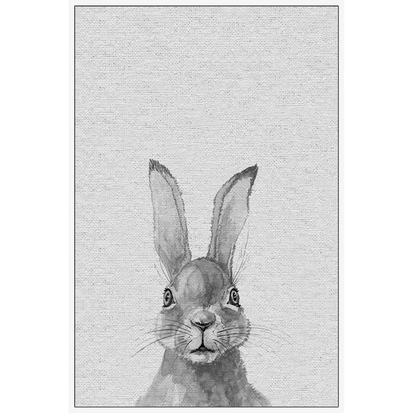 Marmont Hill - Handmade Lapin Gris II Floater Framed Print on Canvas