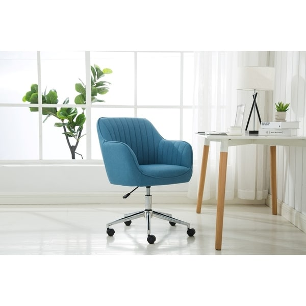 Shop Porthos Home Fabric Office Chair With Switch Footers