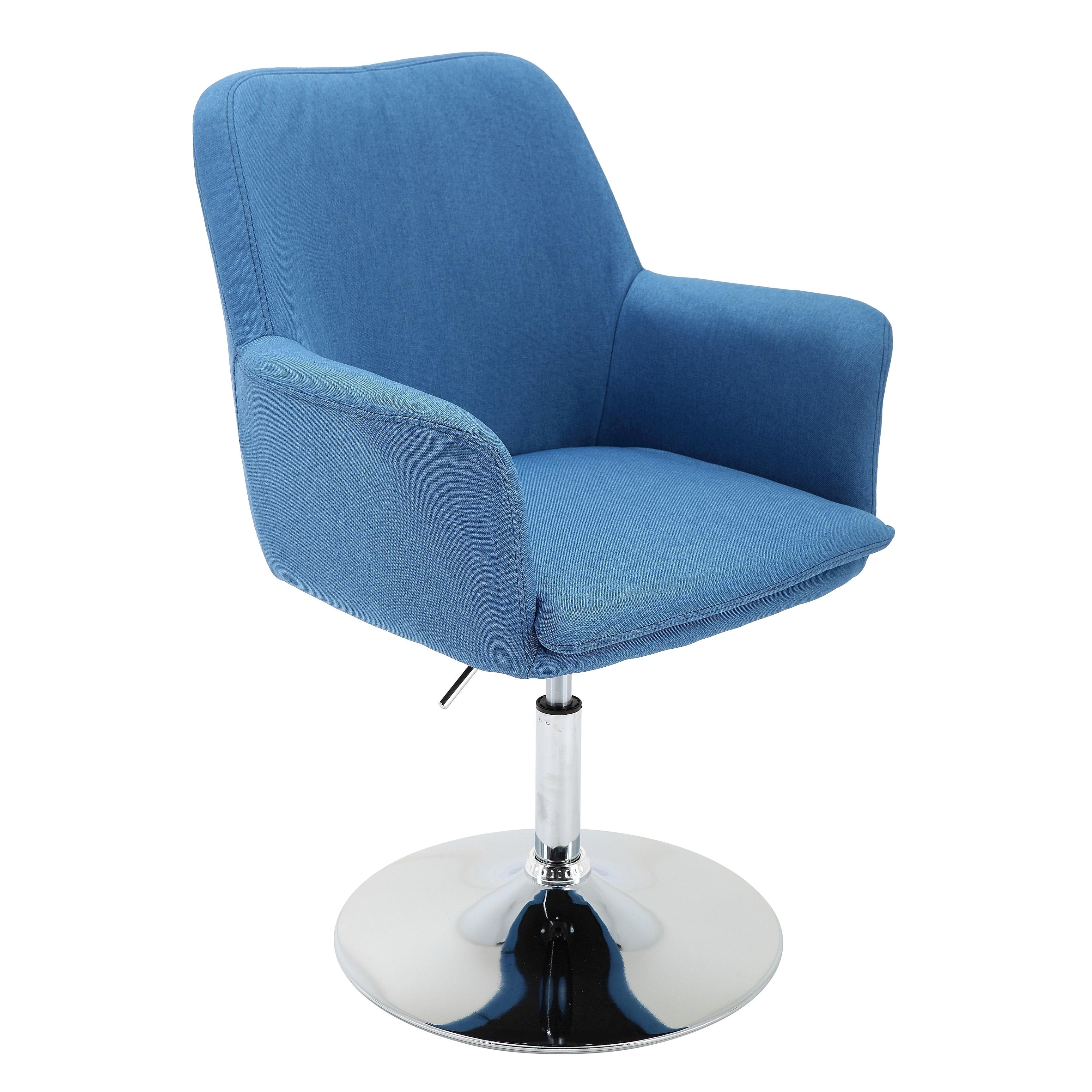 Porthos Home Fabric Pedestal Swivel Office Desk Chair
