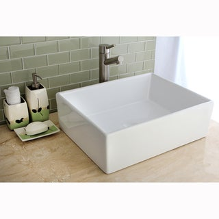 Elements Vessel Vitreous China Sink