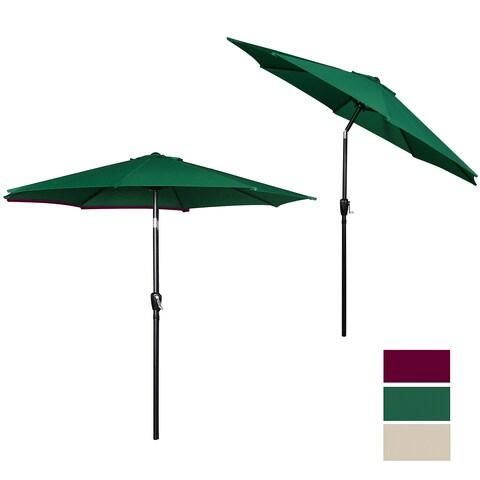 9 Feet UV resistant Garden Umbrella, Hunter Green